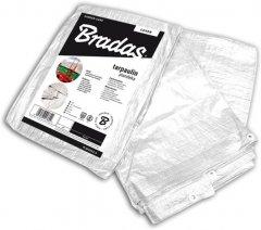 Тент Bradas усиленный White 4х6 м 90 г/м² (PLW904/6)