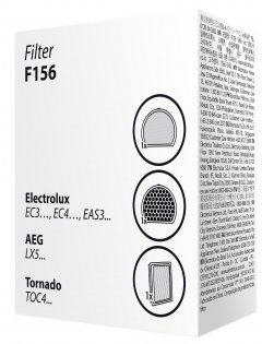 Набор фильтров для пылесоса ELECTROLUX F156