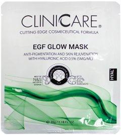Маска ClinicCare EGF Glow anti-pigmentation mask with 0.5% HA Осветляющая 35 мл (635346370427)