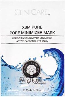 Маска ClinicCare X3M Pure Pore Minimizer Mask Очищающая сужает поры 35 мл (635346370571)