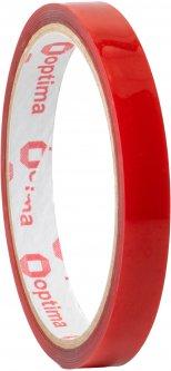 Клейкая двусторонняя лента Optima пеноакриловая (VHB) 12 мм x 2 м Красная (O45344)