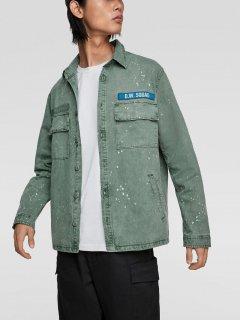 Джинсовая куртка Zara 8062/312/519-ACVR S Мятная (DD3000002815104)