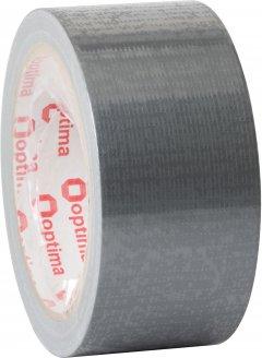 Клейкая армированная лента Optima Duct tape 48 мм x 20 м Серая (O45356)