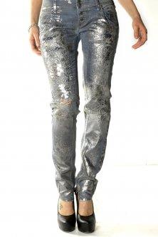 Джинси Sexy Woman Silver XXS сріблястий (P614501)