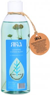 Шампунь Яка Для укрепления волос с маслом льна и эфирными маслами 350 мл (4820150750749)