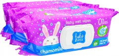Упаковка влажных салфеток Baby Zaya Ромашка 3 пачки по 84 шт (2000525704696)