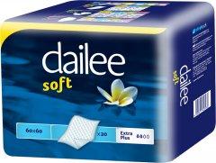 Пеленки одноразовые Dailee Soft 60х60 см 20 шт (8595611623936)