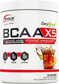 Аминокислота Genius Nutrition BCAA-X5 360 г Кола (5402869110015)