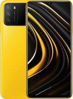 Мобильный телефон Poco M3 4/128GB Yellow (726257)