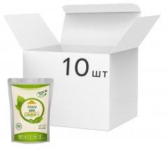 Упаковка заменителя сахара Стевиясан Стевия + Эритритол 454 г х 10 шт (4820158921486)