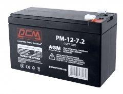 Аккумуляторная батарея Powercom 12V 7.2Ah (PM-12-7.2)