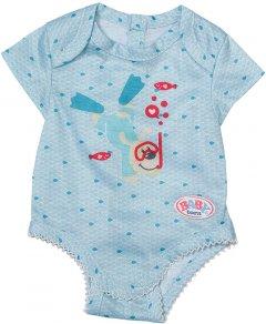 Одежда для куклы Baby Born Боди S2 Голубое (830130-2)