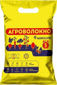Агроволокно Agrolife UV 42 г/м² 1.6 x 10 м Белое (10704683)