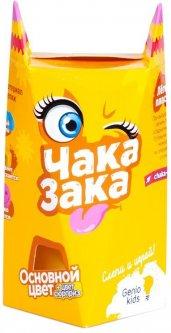 Легкий пластилин для детской лепки Genio Kids Чака-Зака Желтый (TA1790-6) (4814723005978-6)