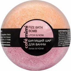 Бурлящий шар для ванны Cafemimi Личи и Нони 120 г (4627090994673)