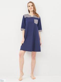 Платье пляжное Effetto 0127 M Синее (2000985031301)