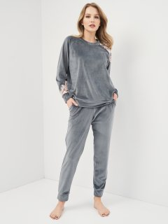 Комплект (кофта + штаны) Effetto 03117 L Серый (2000985183734)