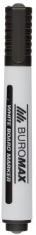 Набор маркеров для сухостираемых досок Buromax 2-4 мм 12 шт Черный (BM.8800-01)