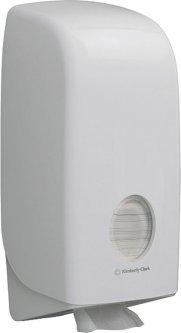 Диспенсер для туалетной бумаги KIMBERLY CLARK PROFESSIONAL Aquarius в пачках (6946) белый