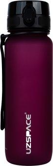 Бутылка для воды Uzspace Frosted 3053 800 мл Бордовая (6955482378786)