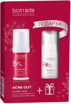Набор для лица Biotrade Acne Out для жирной и проблемной кожи Крем 30 мл + Пенка 20 мл (3800221841355)