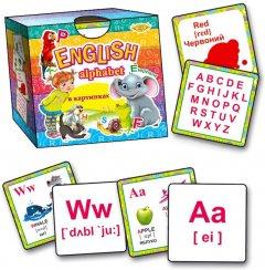Настольная игра Майстер English Alphabet в картинках (МКО0003)