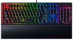 Клавиатура проводная Razer BlackWidow V3 Razer Yellow Switch USB Black RU (RZ03-03542100-R3R1)