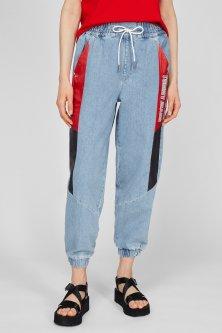 Жіночі блакитні джинси HR ELASTICATED PANT FMXLBR Tommy Hilfiger S DW0DW09865