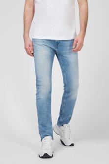 Чоловічі блакитні джинси SCANTON SLIM SSPLBCD Tommy Hilfiger 33-32 DM0DM10251