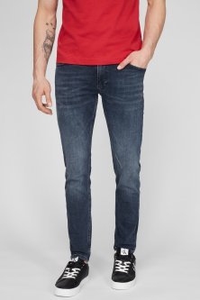 Чоловічі сині джинси MODERN SLIM FLEX DK BLUE Calvin Klein 32-32 K10K106561