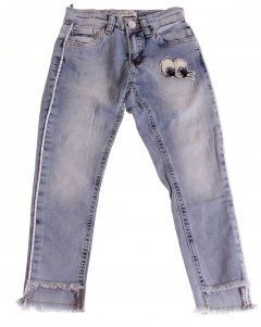 Штани Джинсові Breeze Блакитний 140 см ESC-1981-2 (521755)