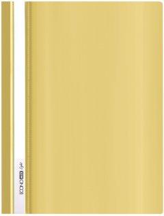 Папка-скоросшиватель Economix А4 Light без перфорации 10 шт Желтая (E38503-05)