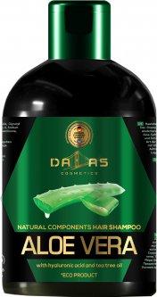 Шампунь Dalas Natural component с гиалуроновой кислотой косточек, натуральным соком алоэ и маслом чайного дерева 1000 мл (4260637729200)