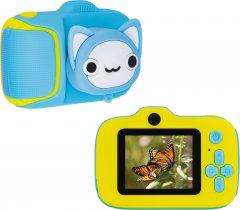 Цифровой детский фотоаппарат Atomix Flix 8 40MP 1080p blue (dfpaoflx8bl)