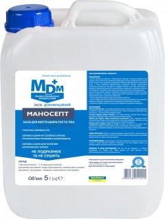 Дезинфицирующее средство для мытья рук MDM Маносепт 5 л (4820180111015)