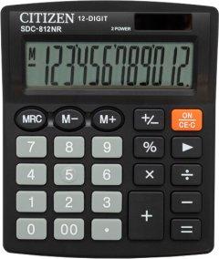 Калькулятор Citizen Электронный 12-разрядный (SDC-812NR)