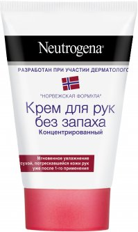 Крем для рук Neutrogena Норвежская Формула без запаха концентрированный 50 мл (3574661133911)
