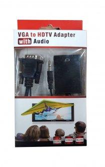 Конвертор VGA-HDMI + Audio