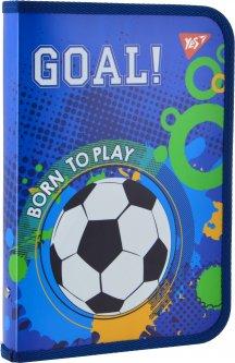 Папка для тетрадей Yes пластиковая на молнии В5 Born To Play для мальчиков (491578) (5056137198825)
