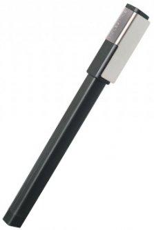 Ручка-роллер Moleskine Writing Plus Черная 0.5 мм Черный корпус (9788867324446)