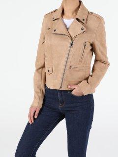 Куртка из искусственной замши Colin's CL1050315BEI S