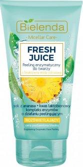 Скраб для лица Bielenda Fresh Juice Ананас Энзимный Осветляющий 150 г (5902169036669)