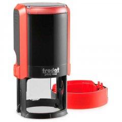 Оснастка для круглой печати Trodat Printy 4642 диаметр 42 мм с колпачком Цвет корпуса Красная (4642 NEW черв)