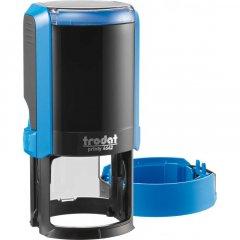 Оснастка для круглой печати Trodat Printy 4642 диаметр 42 мм с футляром Цвет корпуса Синий (4642 NEW синя)