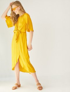 Платье Koton 8YAK88442PW-151 40 Yellow (8681890455891)