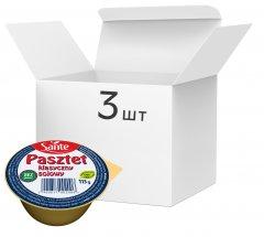 Упаковка паштета соевого Sante без глютена классический 113 г х 3 шт (1900617002000)