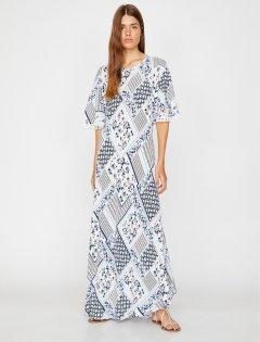 Платье Koton 8YAK88601CW-27C 40 White Design (8681908466307)