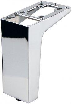 Ножка мебельная Ferro Fiori M 12020 100 мм, с площадкой 50 х 75, нагрузка 200 кг Хром (VR51257)