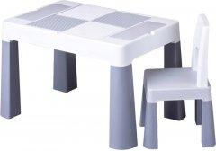 Комплект Tega Multifun Стол + стул Серый (MT-001-106) (2000181216373)