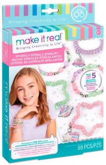 Набор для создания шарм-браслетов Make it Real Блестящие пружинки (MR1210)